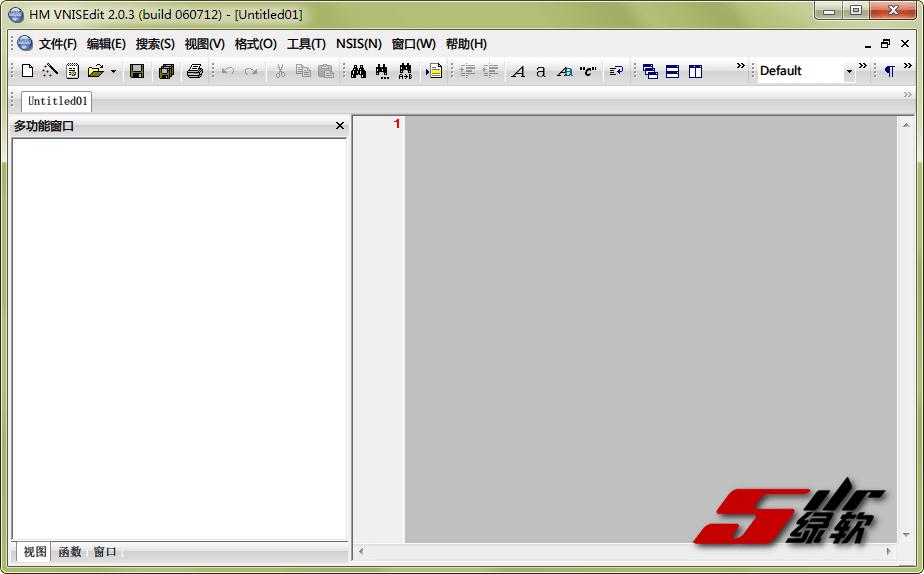 程序安装包制作 NullSoft Scriptable Install System (NSIS) v3.06.1 中文绿色版