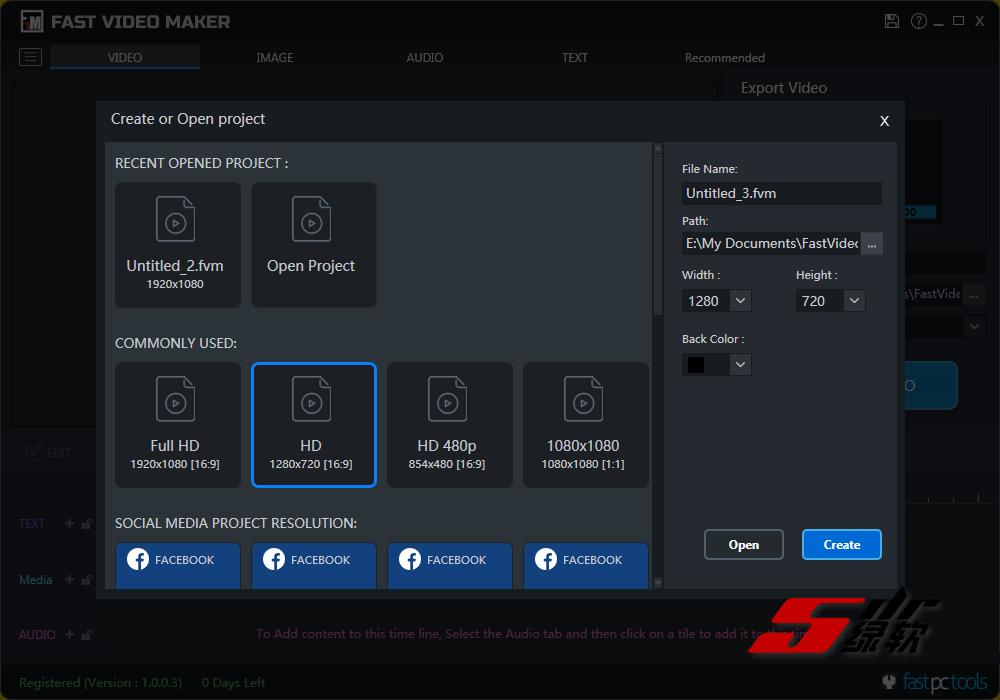 快速视频制作器 Fast Video Maker 1.0.0.3 英文版